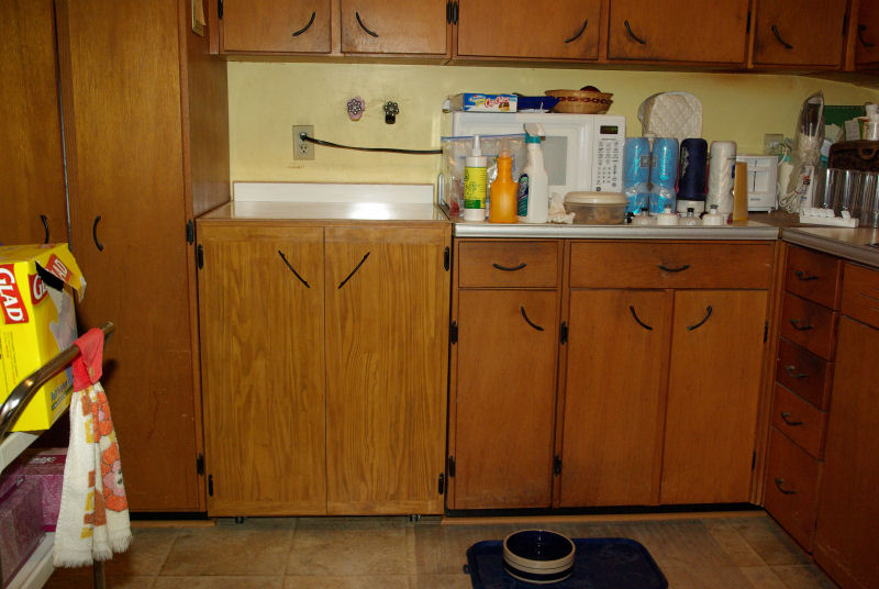 STAINING CABINET DOORS TO MATCH OLD WOOD Cabinet Doors