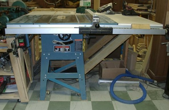 10 inch jet table saw jts 10 woodworking talk woodworkers the jet contractor saws before 2000 were blue greentooth Gallery