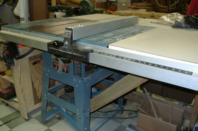 Jet 708494k jps 10ts 10 inch proshop tablesaw with 30 inch for 10 jet table saw
